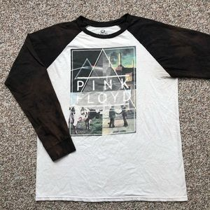 Pink Floyd Liquid Blue 3/4 raglan t-shirt XL